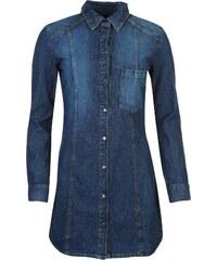 Šaty Firetrap Blackseal Denim dám. modrá