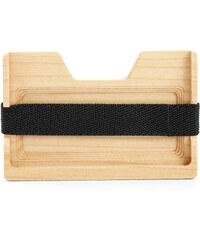 Trendhim Pouzdro na karty z javorového dřeva Q9-1-4117