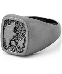 Northern Jewelry Dánský Tribute oxidovaný prsten ze stříbra 925 Danish Tribute Oxidised 925s Ring