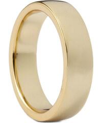 Northern Jewelry Klasický pozlacený prsten ze stříbra 925 Slim Classic Slim Gold 925s Ring