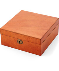 Trendhim Světle hnědý dubový box na hodinky - 6 hodinky X5-2-5373