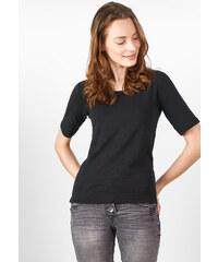 Cecil - T-shirt manches 1/2 Lena - Black