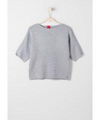 s.Oliver Fledermaus-Pullover aus Piqué