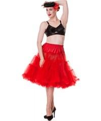 """Spodnička červená 26"""" - pod kolena, luxusní provedení, maximální objem"""