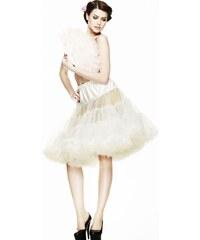 """Spodnička slonovinová 26"""" - pod kolena, luxusní provedení, max. objem"""