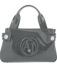 Armani Jeans Sacs à Bandoulière, Patent Mini Bag Élephant en gris