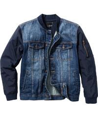 RAINBOW Blouson en jean Regular Fit bleu manches longues homme - bonprix