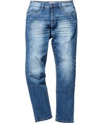 John Baner JEANSWEAR Jean extensible Slim Fit Straight, N. bleu homme - bonprix