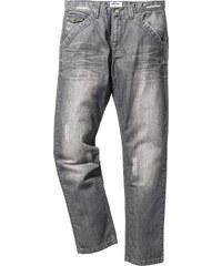 John Baner JEANSWEAR Jean Regular Fit Straight, N., N. gris homme - bonprix