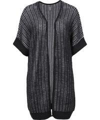 RAINBOW Cardigan, O-Shape in schwarz für Damen von bonprix