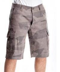 Kraťasy Meatfly Icon 16 Shorts C-Light Grey Camo