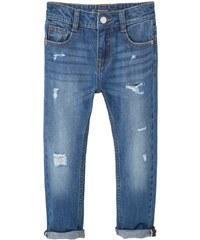 Mango LAURA Jeans Straight Leg medium blue