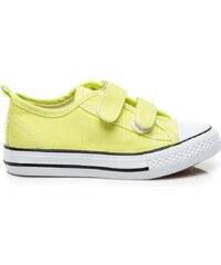 HAKER Pohodlné žluté tenisky na jaro