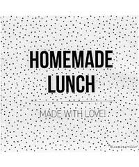 Bloomingville Papírové ubrousky Homemade lunch