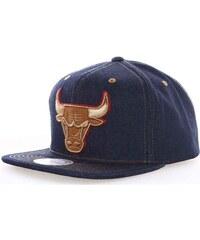 kšiltovka MITCHELL & NESS - Dark Denim Chicago Bulls (BULLS)