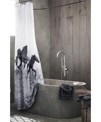 H&M Sprchový závěs s fotopotiskem