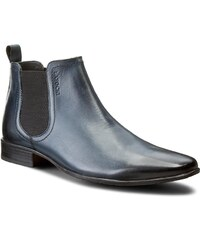 Kotníková obuv s elastickým prvkem LASOCKI FOR MEN - MB01-A234-A79-12 Tmavomodrá