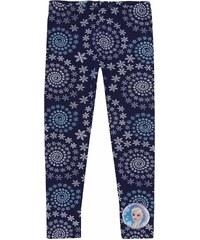 Disney Die Eiskönigin Leggings blau in Größe 104 für Mädchen aus 95% Baumwolle 5% Elastan