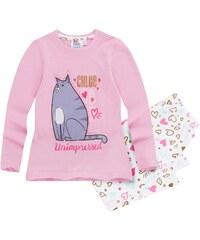 Pets (Secret Life of Pets) Pyjama weiß in Größe 104 für Mädchen aus 100% Baumwolle