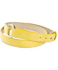 Gretchen Loop Belt - Lemon Yellow
