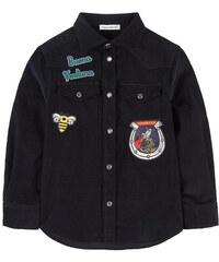 Dolce & Gabbana Velourshemd mit Patches Western