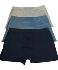 Enci Felix jednobarevné boxerky - 3ks 3XL MIX