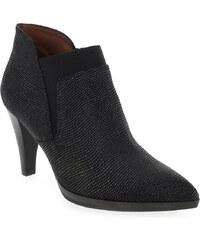 Boots Femme Hispanitas en Cuir Noir