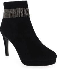 Boots Femme Pedro Miralles en Cuir velours Noir