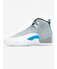 Air Jordan 12 Retro BG Wolf Grey University Blue White Midnight Navy