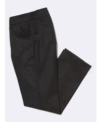 Cyrillus Pantalon - flanelle uniforme anthracite chiné