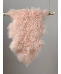 Cyrillus Tapis en laine d'agneau - rose
