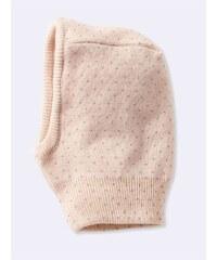 Cyrillus Cagoule réversible en laine mélangée - poudre