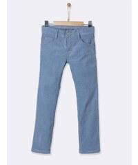 Cyrillus Pantalon en velours - bleu délavé