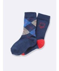 Cyrillus Lot de 2 paires de chaussettes - rouge
