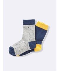 Cyrillus Lot de 2 paires de chaussettes - safran