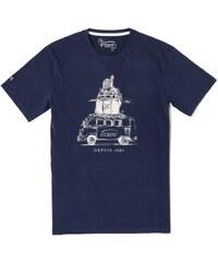Oxbow Tartane - T-shirt - bleu marine