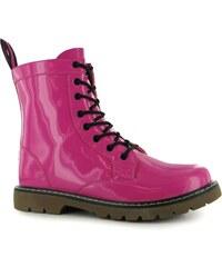 Miso 8 Eyelet dámské Boot Fuchsia/Patent