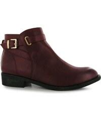 Miso Bucks Boots dámské Burgundy