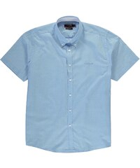 Pierre Cardin XL Short Sleeve Shirt pánské Blue Geo