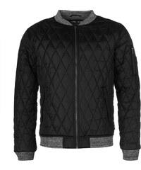 Zimní Prošívaná bunda pánská Lee Cooper Quiltee Black