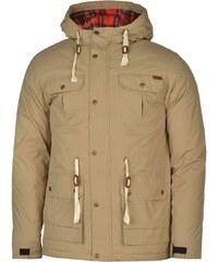 Zimní bunda pánská Lee Cooper Padded Parka Khaki