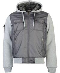 Everlast Lined Zip Jacket pánské Charcoal