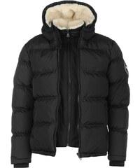 Zimní bunda pánská SoulCal Bubble Black