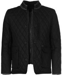 Firetrap Quilted Jacket pánské Black Wax
