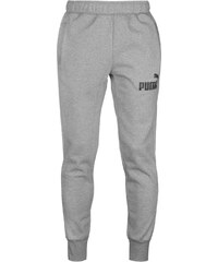 Puma Tapered Fleece Jogging Bottoms pánské Grey