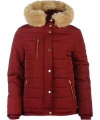Golddigga Bubble Jacket dámské Berry Red