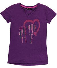 Triko Requisite T Shirt dětské Girls Purple