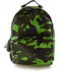 Dámský barevný retro batoh Army Marlen 11050