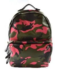 Dámský do růžova barevný retro batoh Army Marlen 11050