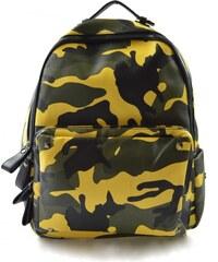 Dámský do žluta barevný retro batoh Army Marlen 11055